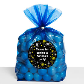 Sparkle Birthday Milestone Personalized Cello Bags (Set of 30)