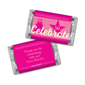 Personalized Birthday Celebrate Hershey's Miniatures