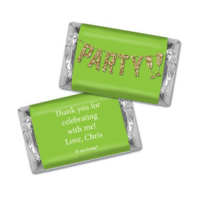 Personalized Hershey's Miniatures - Let's Party Birthday