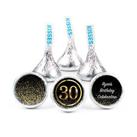 Personalized Elegant 30th Birthday Bash Hershey's Kisses (50 pack)