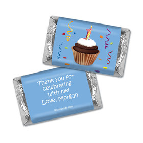 My First Cupcake Personalized Miniature Wrappers