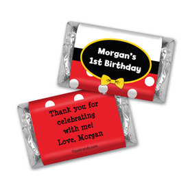 His Mousey Birthday Personalized Miniature Wrappers