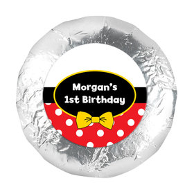 "His Mousey Birthday 1.25"" Sticker (48 Stickers)"
