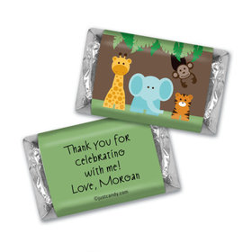 Jungle Friends Personalized Miniature Wrappers