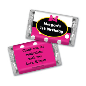 Her Mousey Birthday Personalized Miniature Wrappers