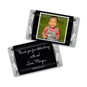 First Birthday Snapshot Personalized Miniature Wrappers
