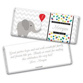 Elephun Personalized Candy Bar - Wrapper Only