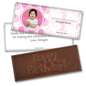 What a Spectacle Personalized Embossed Chocolate Bar Assembled