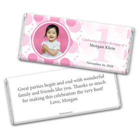 What a Spectacle Personalized Candy Bar - Wrapper Only