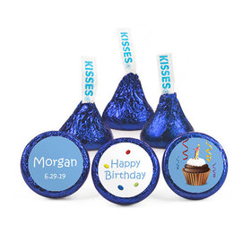 Personalized First Birthday Confetti Hershey's Kisses (50 pack)