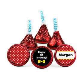 Personalized His Mousey First Birthday Hershey's Kisses (50 pack)