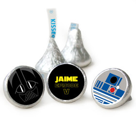 Galactic Empire Birthday HERSHEY'S KISSES Candy Assembled (50 Pack)