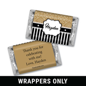 Glamorous Girl Personalized Miniature Wrappers
