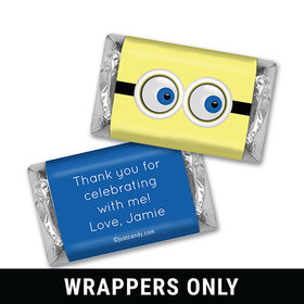 Eyes on Your Birthday Personalized Miniature Wrappers