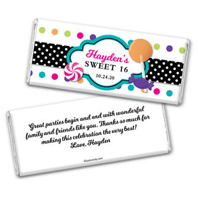 Super Sweet Personalized Candy Bar - Wrapper Only