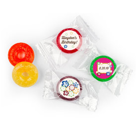 Birthday Personalized Life Savers 5 Flavor Hard Candy Tropical Hawaiian Luau Party