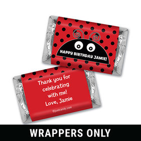 Lucky Ladybug Personalized Miniature Wrappers