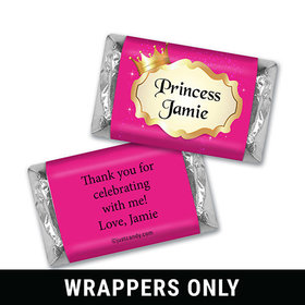 Our Princess Personalized Miniature Wrappers