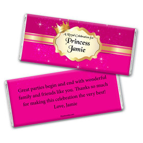 Our Princess Personalized Candy Bar - Wrapper Only