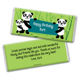Pandagram Personalized Candy Bar - Wrapper Only