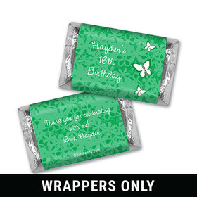 Butterfly Garden Personalized Miniature Wrappers