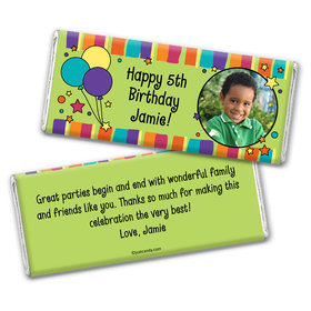 Full Of Fun Personalized Candy Bar - Wrapper Only