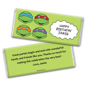 Cowabunga! Personalized Candy Bar - Wrapper Only