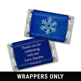 Icy Blast Personalized Miniature Wrappers