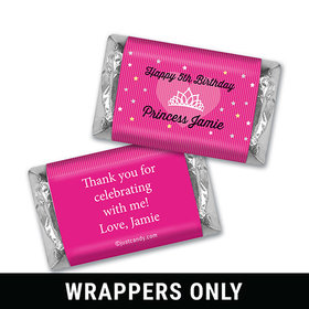 Tiara Time Personalized Miniature Wrappers