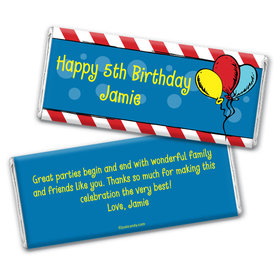 Fantastical Magical Birthday Personalized Candy Bar - Wrapper Only