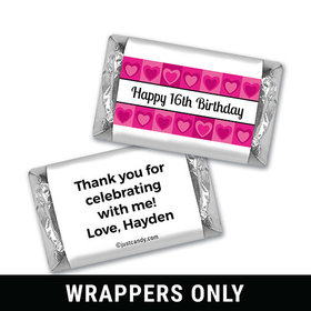 Cheerful Disposition Personalized Miniature Wrappers