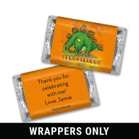 Jurassic Age Personalized Miniature Wrappers