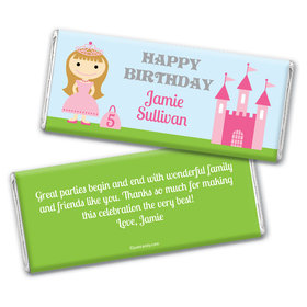 Beloved Princess Personalized Candy Bar - Wrapper Only