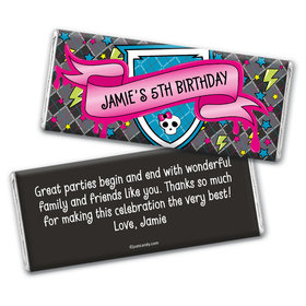 Fangtastic Birthday Personalized Candy Bar - Wrapper Only