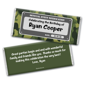 Special Forces Personalized Candy Bar - Wrapper Only