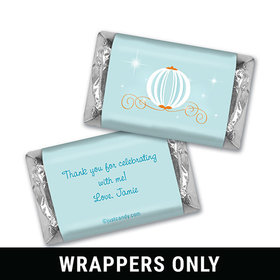 Stroke of Midnight Personalized Miniature Wrappers