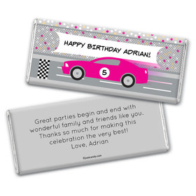 Winning Birthday Personalized Candy Bar - Wrapper Only