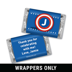 Birthday Captain Personalized Miniature Wrappers