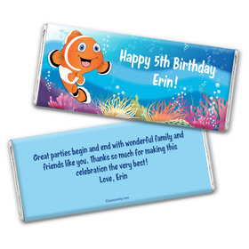 Ocean Explorer Personalized Candy Bar - Wrapper Only