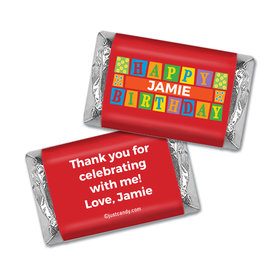 Primary Party Personalized Miniature Wrappers