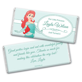 Deep Sea Royalty Personalized Candy Bar - Wrapper Only