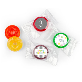 Charming Personalized Birthday LIFE SAVERS 5 Flavor Hard Candy Assembled