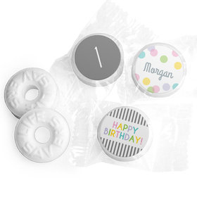 Charming Personalized Birthday LIFE SAVERS Mints Assembled