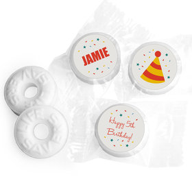 Hooray! Personalized Birthday LIFE SAVERS Mints Assembled