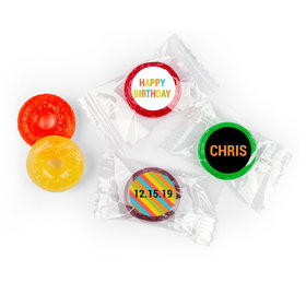 Vibrant Personalized Birthday LIFE SAVERS 5 Flavor Hard Candy Assembled