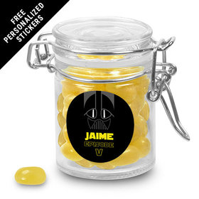Birthday Personalized Round Latch Jar Jedi Master (6 Pack)