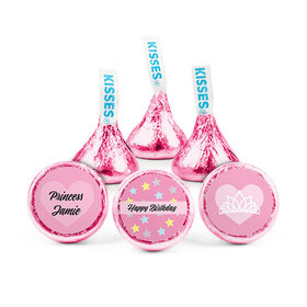 Personalized First Birthday Her Crown Hershey's Kisses (50 pack)