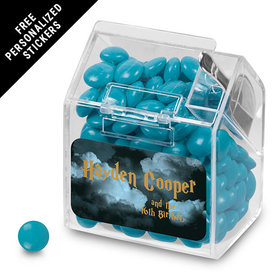 Birthday Personalized Candy Bin Dispenser Harry Potter Wizzardly Wishes (12 Pack)