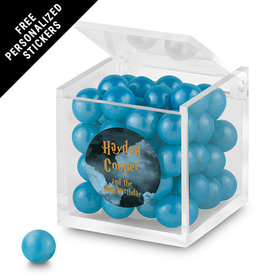 Birthday Personalized Clear Cube Harry Potter Wizzardly Wishes (25 Pack)