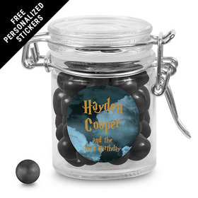 Birthday Personalized Round Latch Jar Harry Potter Wizzardly Wishes (6 Pack)